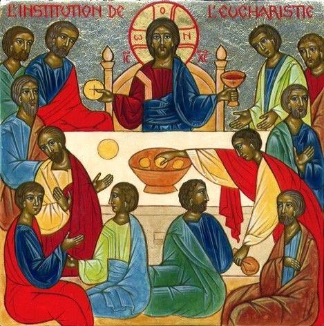 10 L'Institution de l'Echaristie de l'album Icônes du Rosaire