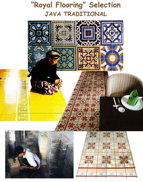 Mozaic - Plancher - Materiaux de Construction - BALI FURNITURE - Juzz Ju Selections