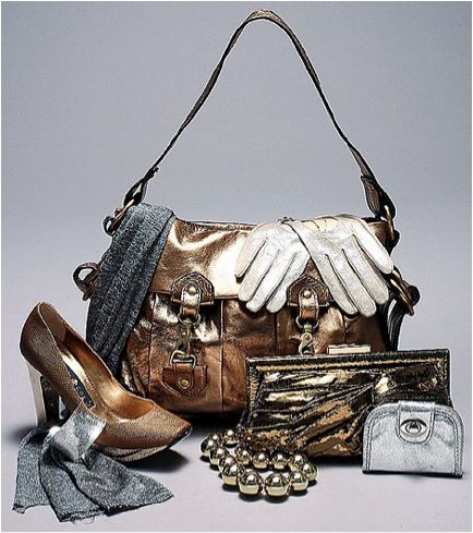 Friday fabulosity blog about metallics! check it out at blog.bagbeautiful.com