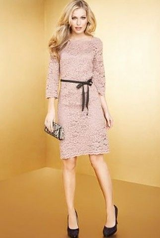 Marks & Spencer Autograph Occasions floral lace dress, £49 ...