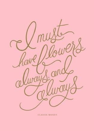 Loving this illustrated quote by @Anna Totten Bond. We agree 100% #weddingflowers