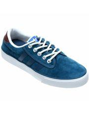 Tênis Adidas Kiel Leather - Azul Petróleo