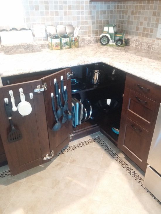 maximising the kitchen corner cabinet without that spinning thing - Kitchen Corner Cabinet Ideas
