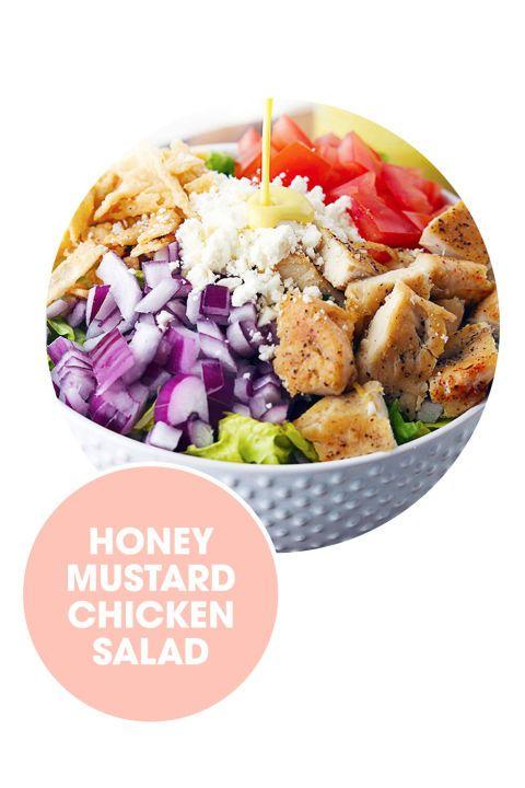 salads honey mustard chicken bon appetit mustard chicken honey chicken ...