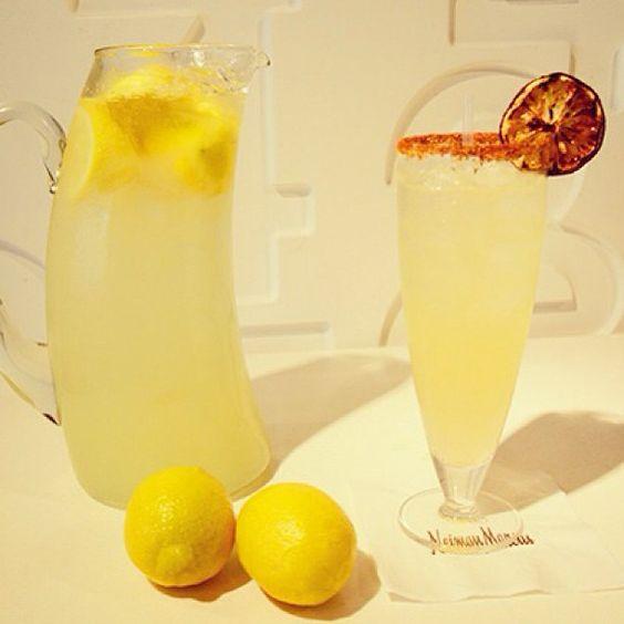 Grilled Smoked Lemonade @neimanmarcus