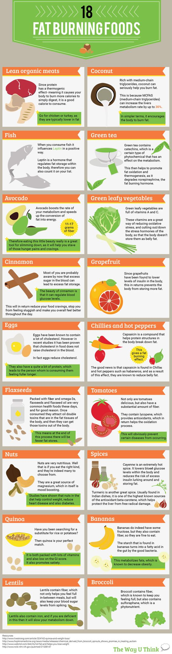 Fat burning foods fat burning and best diet plan on pinterest