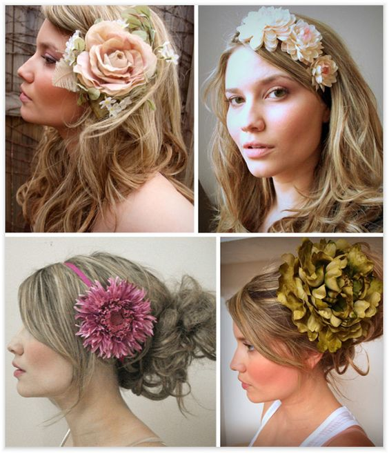 Bridal Hair For Summer and Fall | Bridal Hairstyles