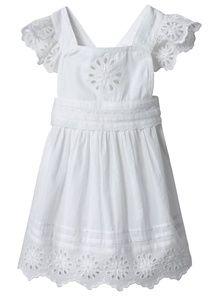 Super cute Stella McCartney white eyelet baby girl dress  What&39s ...
