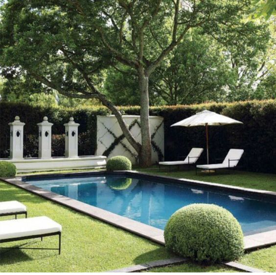 Pretty Pools From Pinterest The English Room Swimming Pools Backyard Pool Landscaping Backyard