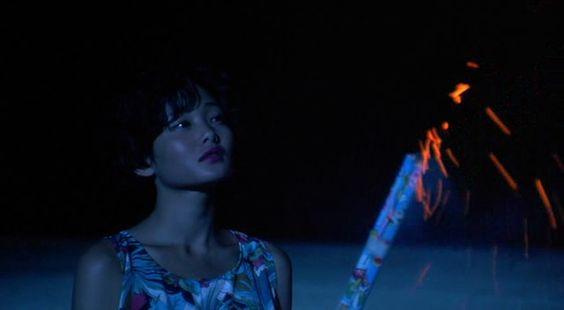 Sonatine (ソナチネ) 1993. Director/Writer: Takeshi Kitano....Miyuki (Aya Kokumai)