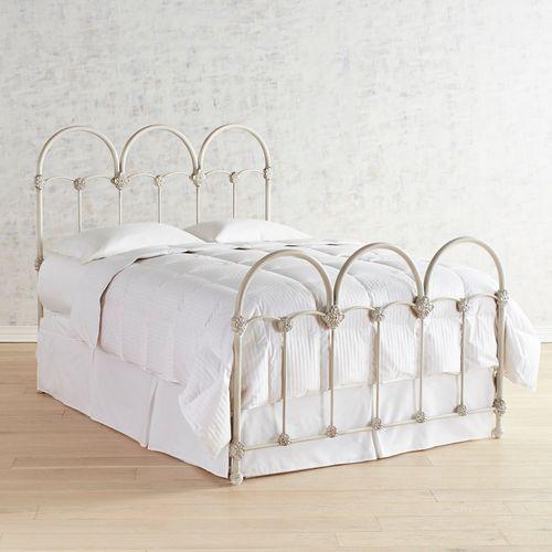 Magnolia Home Rosette Iron Queen Bed Pier 1 Imports Magnolia