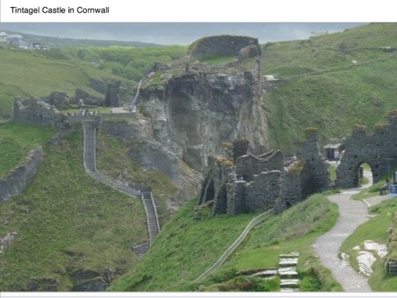 King Arthur, Tintagel castle