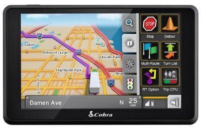 Cobra 6000 Pro HD, GPS para conductores de camiones