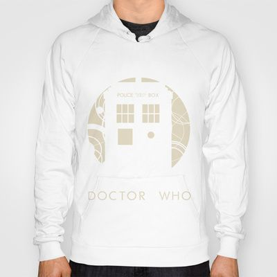 Doctor Who Hoody. I love it, but I would get it dirty so fast.