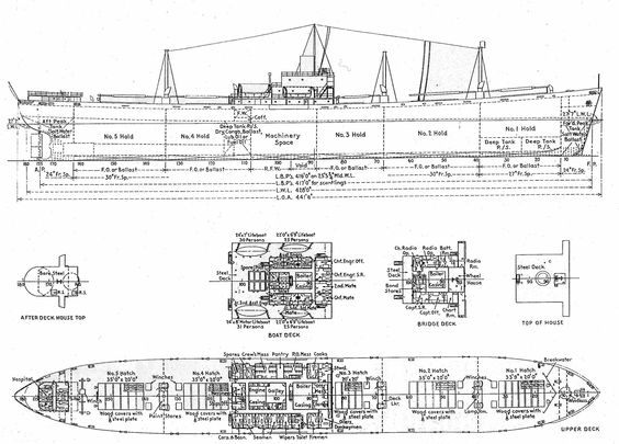 liberty ship diagram