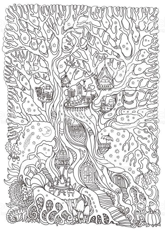 Christmas Tree Coloring Pages Coloringpagesforkids