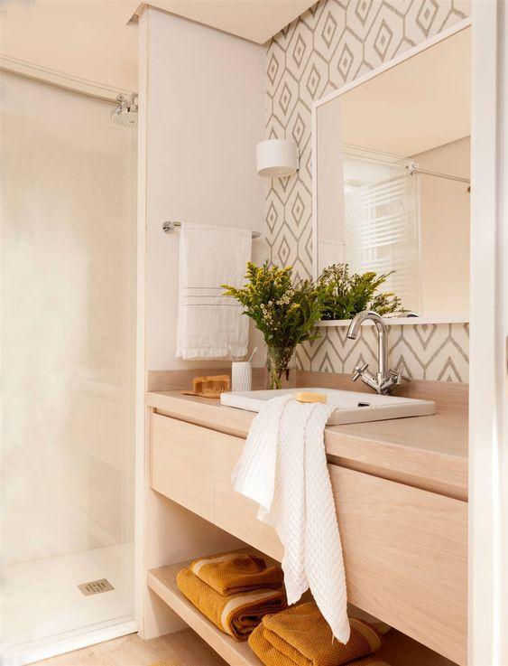 Cuartos de baño de diseño escandinavo