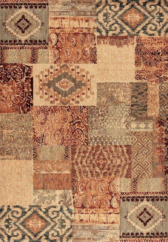 Alfombra patchwork laguna 14 alfombras modernas - Alfombras salon modernas ...