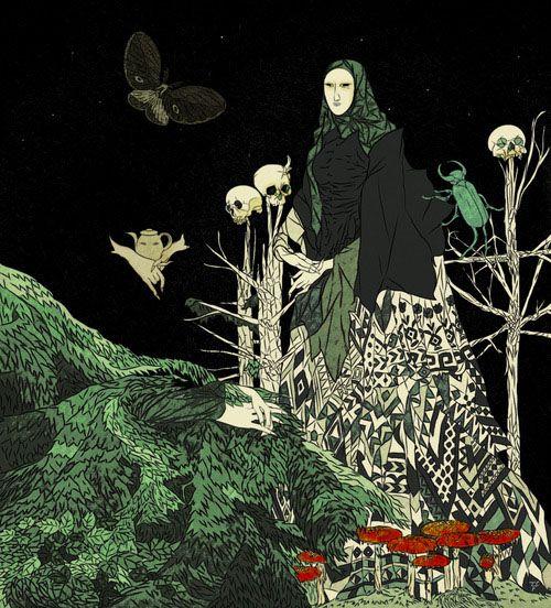 Tin Can Forest (Marek Colek and Pat Shewchuk). Baba Yaga.
