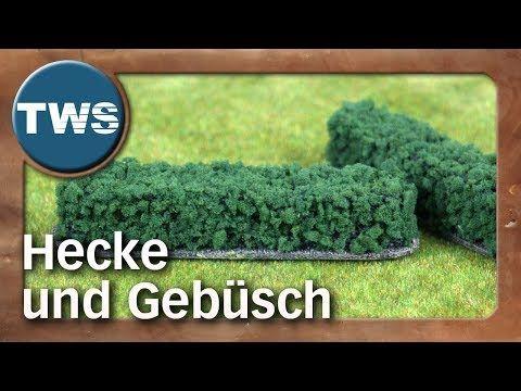 Tutorial Hecke Und Gebusch Hedge And Shrubbery Tabletop Gelande Tws Youtube Modellbahnanlage Hecke Tabletop