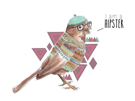 Piou-hipster