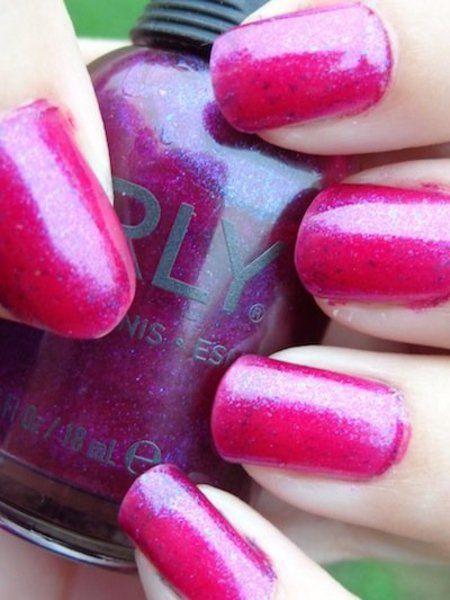 "Orly ""Purple Poodle"" #purple #naillacquer #polishaddict #nails - bellashoot.com"
