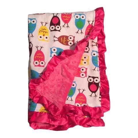 BayB Brand Baby Blanket - Owl - BayB Brand