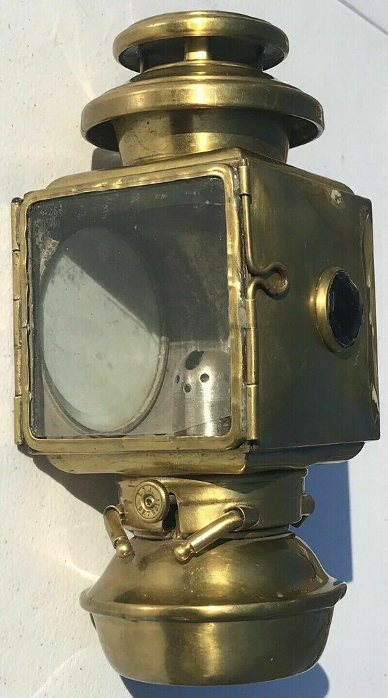 Sponsored Ebay Htf 1908 Brass Ford Model T Headlight Kerosene Head Light Carriage Lamp Carriage Lamps Parts And Accessories Vintage Cars