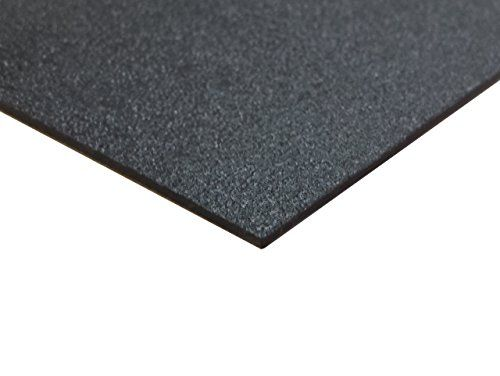abs g p haircell sheet black 12 x 12 x thick pack of 8 nominal good impact. Black Bedroom Furniture Sets. Home Design Ideas