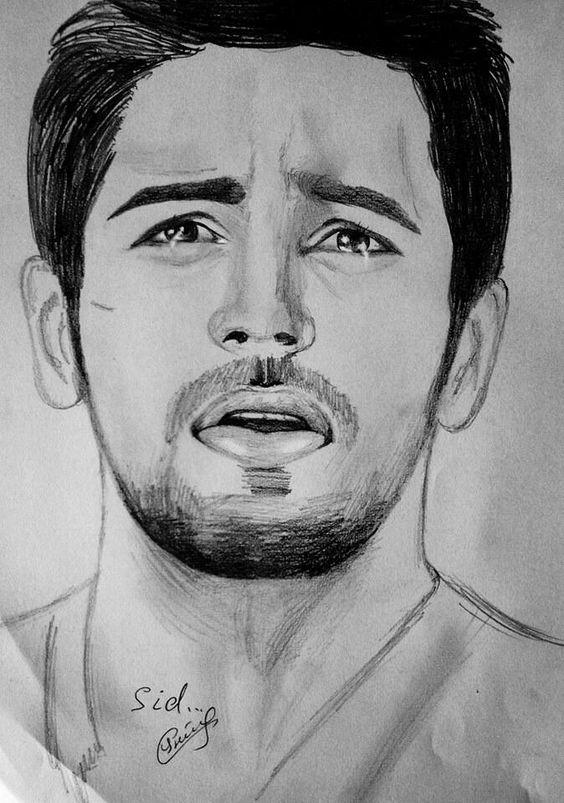 Sidharth malhotra sketch