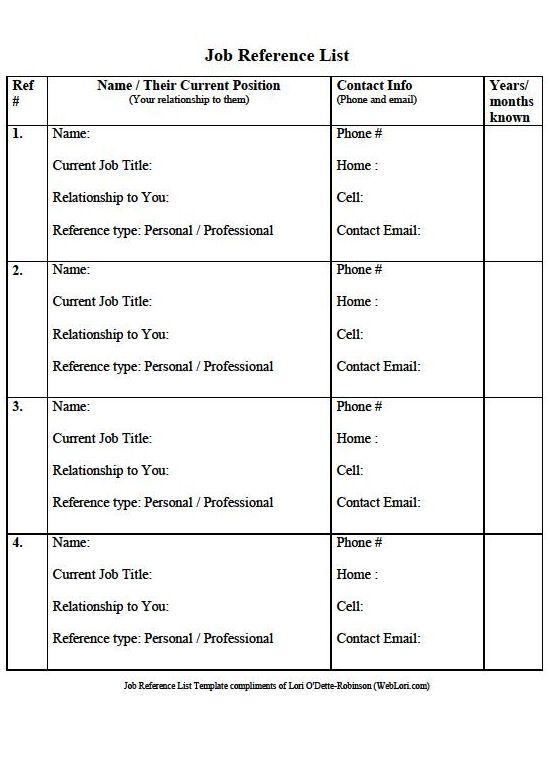 Doc620802 Free References Template Template Reference list – References Template Free