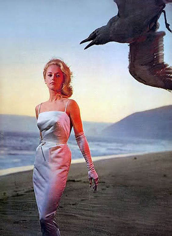 Tippi Hedren what an incredible picture.. she actually never seems to take a bad pic