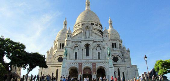 Aussicht auf Paris von der Sacre Coer (Montmartre)