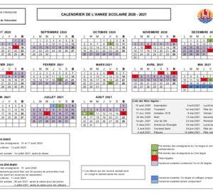 Les+calendriers+scolaires+2020 2023+dévoilés | Calendrier scolaire