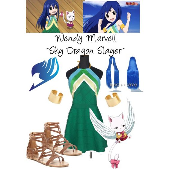 Wendy Marvell, Cosplay Set - Fairy Tail ~ DarksideAnime