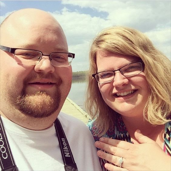 Congratulations to Nate and Emily! We helped this wonderful couple custom design a truly gorgeous ring! <3