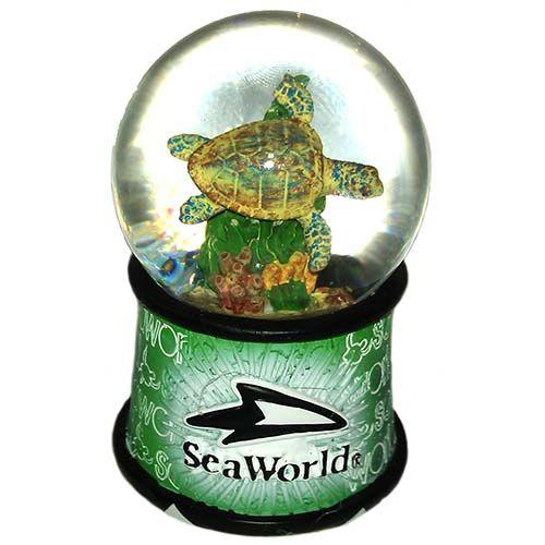 Your WDW Store - Sea World Snow Globe - Sea Turtle Banner