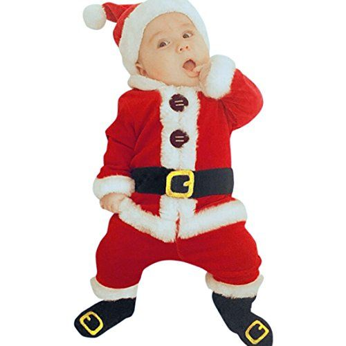 Christmas Outfits Clothes Baby Christmas Clothes Todaies Babysanta Christmas Tops Baby Christmas Outfit Toddler Boy Christmas Outfits Boys Christmas Outfits