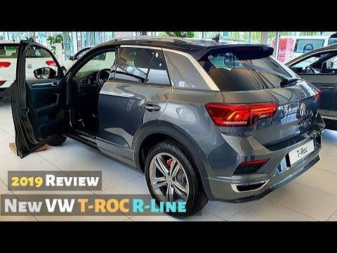 New Vw T Roc R Line 2019 Review Interior Exterior Youtube Volkswagen Interior Grey Exterior Interior And Exterior