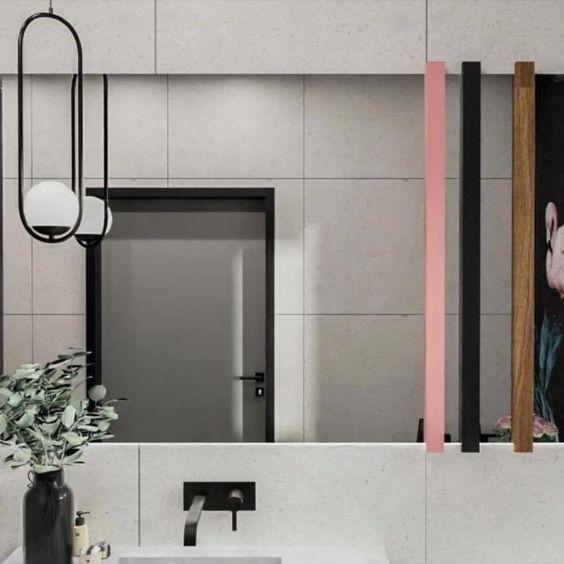 Łazienka z flamingami