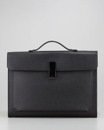 Small Briefcase with Horn Closure by Tom Ford at Neiman Marcus.