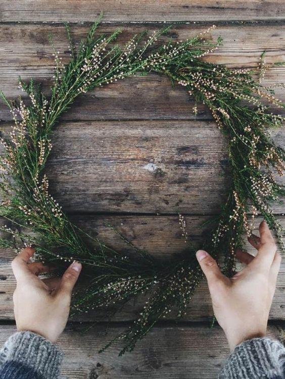 fLes inspirations de couronnes de Noël
