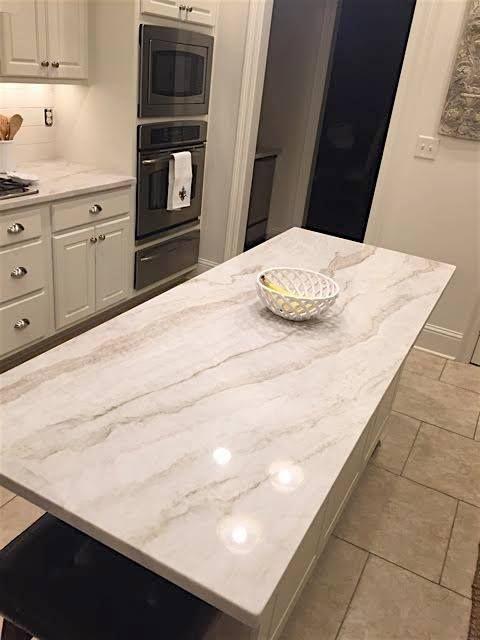 Arbeitsplatte Granit Grau Beige : arbeitsplatte, granit, beige, Mahal, Quartzite, #quartzite, #creamandwhite, Granit, Arbeitsplatte,, Küchen, Inspiration,, Arbeitsplatte