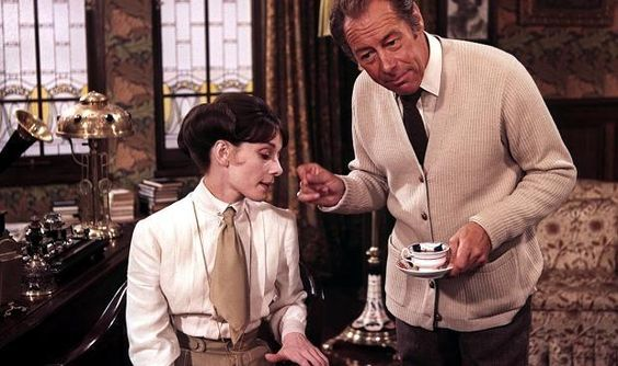 My Fair Lady. Eliza Doolittle. Henry Higgins. Audrey Hepburn and Rex Harrison