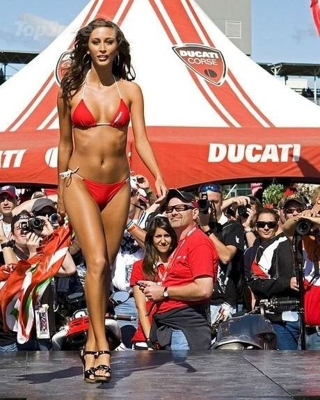 #Ducati MotoGP racing #swimsuit beauty contest | Sports Car/Superbike Racing Events | Pinterest ...