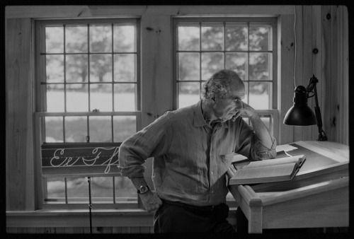 Philip Roth dans son studio, sa bulle (créative). Sa vie offre le moins de degrés de liberté possible. (Twyla, Tenir sur la durée, p. 235)