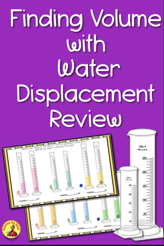 Volume By Water Displacement Worksheet : volume, water, displacement, worksheet, Finding, VOLUME, Water, Displacement-BACK, SCHOOL, Activity, Review, Worksheet, School, Activities,, Science, Teaching, Resources,, Lessons, Elementary