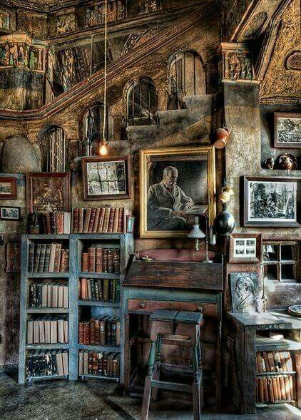 A great old #library--Set Design....