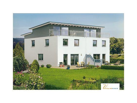 Einfamilienhaus modern pultdach  Beilstein II - #Einfamilienhaus von VIVA MASSIVHAUS GmbH | HausXXL ...