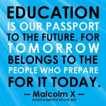Teachers Apple on Stack of Books with a Pencil Education is our passport to  the future  for tomorrow     Pinterest